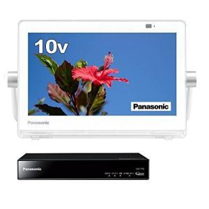 パナソニック 10V型 液晶 テレビ プライベート・ビエラ UN-10E7-W 2017年モデル|shimizusyouten01