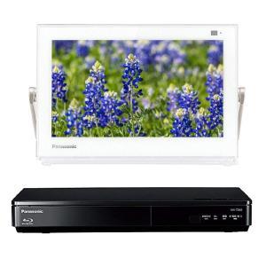 パナソニック 10V型 液晶 テレビ プライベート・ビエラ UN-10TD6-W ブルーレイディスクプレイヤー付HDDレコーダー付き|shimizusyouten01