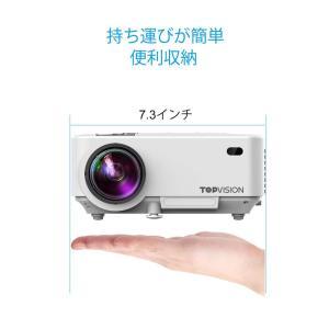 プロジェクター 小型 データプロジェクター 1080PフルHD対応 スマホ画面同期 スマホと直接に接続可 2400ルーメン スピーカー 内蔵 shimizusyouten01