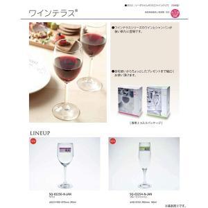 東洋佐々木ガラス シャンパングラス ワインテラス 食洗機対応 160ml 2個セット 日本製 SQ-...