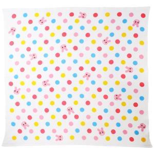 ミキハウス ホットビスケッツ (MIKIHOUSE HOT BISCUITS) ガーゼバスタオル 76-8016-950 ピンク|shimizusyouten01