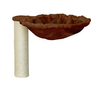 ottostyle.jp キャットツリー/キャットシェルフ用 支柱付きハンモックセット 34cm(直径8cm) 紐巻き ブラウン 「キャット shimizusyouten01