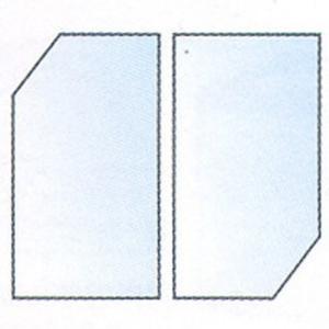ジェックス ガラスフタ 90-E(2枚組) 90cm水槽 下段用 shimizusyouten01
