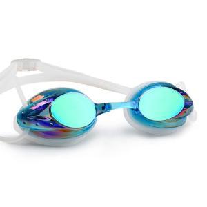 BT-BASE 水中メガネ ベルト調節可能 曇り止め UVカット 競技用 海水浴 スカイブルー|shimizusyouten01