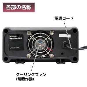 メルテック インバーター 3way(USB&コンセント&アクセサリーソケット) DC24V 120W...