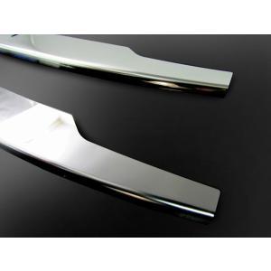 BRIGHTZ アルトワークス HA36S 超鏡面ステンレスメッキフロントバンパーモール FBUM-MOL-035 HA HA36 A36|shimizusyouten01