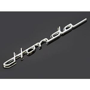 Honda クラシック エンブレム メッキ 筆記体 215mm×23mm ホンダ モンキー ゴリラ エイプ シャリー ダックス ディオ ズー|shimizusyouten01