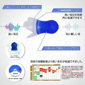 MICRA MOKO。日本人に向け耳栓。工事の遮音性専用。高級シリコン材で高音域30dB防音。お客様が評価高い。|shimizusyouten01
