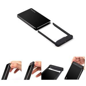 Salcar 2.5インチ7mm専用Type-C HDD/SSD ケース USB3.1 Gen1 U...