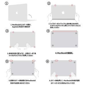 Belk MacBook Air 13 2018 ケース キーボードカバー+液晶保護フィルム+Mac...
