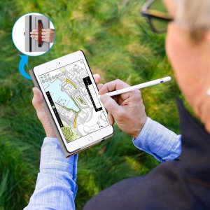 Ztotop iPad Mini5 2019 ケース 高級PUレザー製 オートスリープ機能 ペンシル...