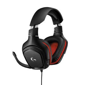 Logicool ロジクール ゲーミング ヘッドセット G331ブラック/レッド 軽量 2.1chステレオ高音質 高性能マイク PS4/PC shimizusyouten01