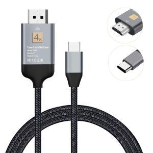 2019最新版JUSST Type C to HDMI 変換ケーブル 2mアルミ製 1080P@30...