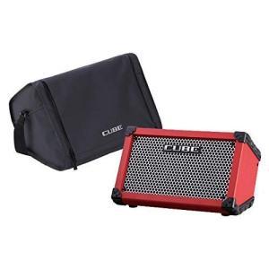 ROLAND CUBE Street RED 乾電池駆動可能ギターコンボアンプ キャリングバッグセット|shimizusyouten01