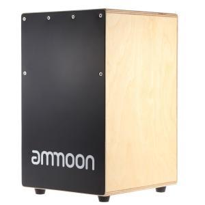 ammoon カホン ボックスカホン 23 * 24 * 37cm ドラム ゴム足付き 打楽器 shimizusyouten01