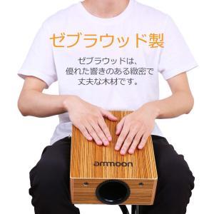 ammoon カホンドラム ポータブル ストラップキャリーバッグ付き shimizusyouten01