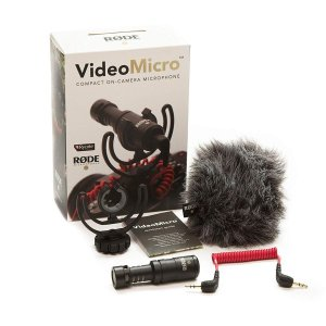 国内正規品RODE ロード VideoMicro 超小型コンデンサーマイク VIDEOMICRO