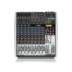 ベリンガー QX1622USB 16入力2/2バスミキサー USB/オーディオインターフェース