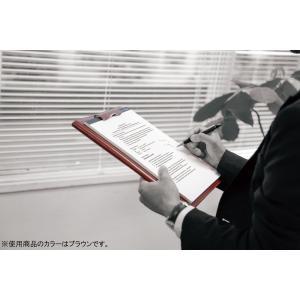 レイメイ藤井 クリップファイル zeitVektor A5 革製 ブラック ZVF605B
