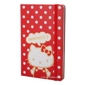 モレスキン ノート 限定 Hello Kitty ハード 無地 LEHK01QP062 LG RD