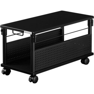 Bauhutte (バウヒュッテ) ゲーミングデスク 昇降式L字デスク PCワゴン ローデスク 座椅子との相性ばつぐん (天板32×67cm|shimizusyouten01