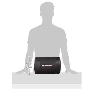 AKRacing クッションセット 交換用ヘッドレスト+ランバーサポートセット PUレザー カーボン...