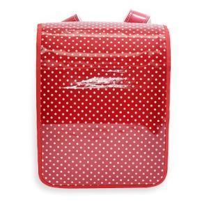 ランドセルカバー 水玉・赤 N4116200|shimizusyouten01