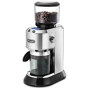 デロンギ デディカ コーン式 コーヒーミル コーヒーグラインダー 極細~粗挽き 粒度18段階設定 K...
