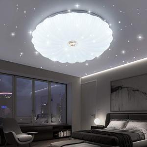 LED シーリングライト 星空効果 27W 6~8畳 3段階調色 白色 電球色 昼光色 天井照明 和風 リビング 居間 食卓 寝室 子供部屋|shimizusyouten01