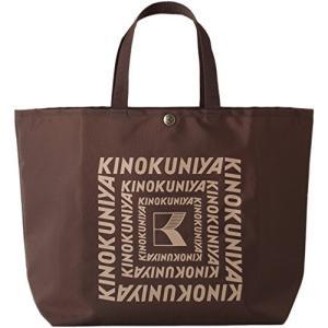 紀ノ国屋 KINOKUNIYA カラーエコロジーバッグ M (ブラウン) CM-9|shimizusyouten01