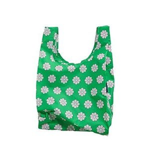 BAGGU (バグー) Baby Reusable Bag Green Daisy ベイビー エコバッグ グリーンデイジー 並行輸入品|shimizusyouten01