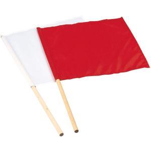 エバニュー(EVERNEW) 紅白手旗 EKA468