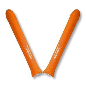 オレンジ色スティックバルーン2本組 10セット プライム