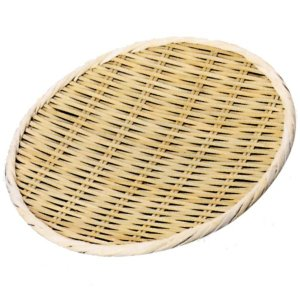 小柳産業 竹製盆ザル (国産) 上仕上げ [ファイ]42cm 30008