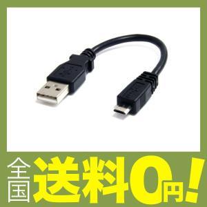 StarTech.com micro USB2.0変換ケーブルアダプタ 15cm USB-A オス - USB micro-B オス UUSBHAUB6INの商品画像|ナビ
