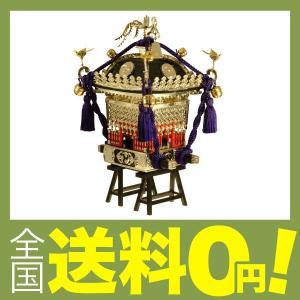 童友社 1/8 江戸神輿 黒塗り紫紐 プラモデル shimoyana
