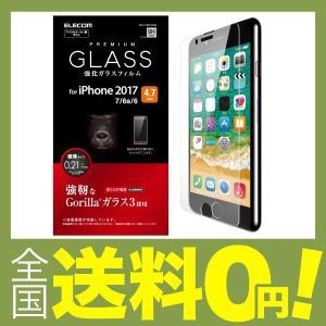 エレコム iPhone8 フィルム ゴリラガラス iPhone7 対応 PM-A17MFLGGGO shimoyana