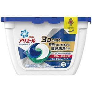 アリエール 洗濯洗剤 パワージェルボール3D 本体 18個入...