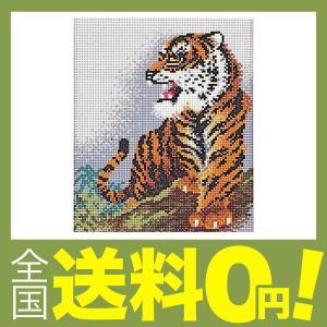 元廣 スキル ギャラリー(ビーズ手芸キット) 虎 G730 shimoyana