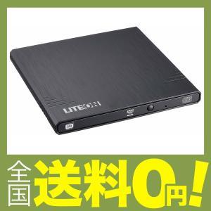 LITE-ON 外付け ポータブル 世界最軽量 ウルトラスリムDVDスーパーマルチドライブ ブラック...