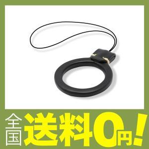 【商品コード:12008688399】指に装着してスマートフォンの落下を防ぐ、フィンガーストラップで...