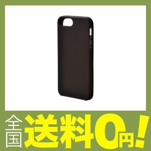 3e44098944 エレコム iPhone SE ケース シリコン iPhone 5s/5対応 ブラック PM-A18SSCBK