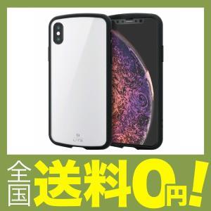 エレコム iPhone Xs ケース 衝撃吸収 TOUGH SLIM LITE  iPhone X対応 ホワイト PM-A18BTSLWH shimoyana