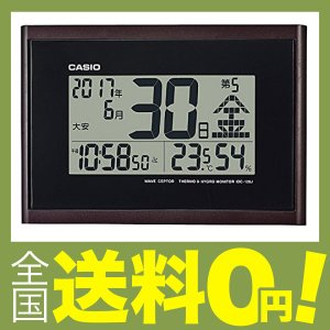 カシオ 温度・湿度計付き電波クロックIDC-...の関連商品10