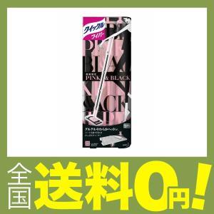 クイックルワイパー フロア用掃除道具 ピンク×ブラックデザイン 本体|shimoyana