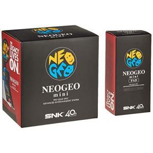 NEOGEO mini + NEOGEO mini PAD (黒) セット|shimoyana
