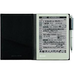 シャープ 電子ノート 電子メモ WG-S30-B 手帳機能付き ブラック系