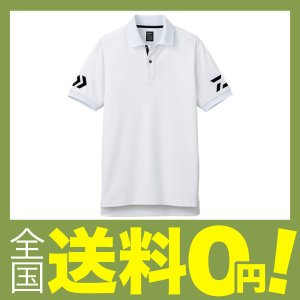 ダイワ(Daiwa) 釣り シャツ 半袖 ポロシャツ DE-7906 ホワイト×ブラック 2XL|shimoyana
