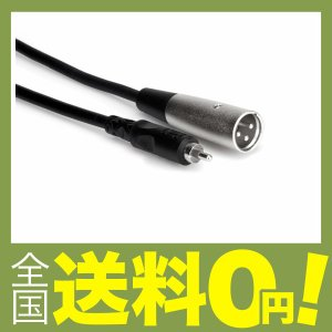 Hosa XRM-102 60cm RCAオス-XLRオス オーディオケーブル