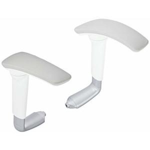 オカムラ バロン オプションパーツ 可動肘 シルバー ホワイトフレーム CP529Y-GB03